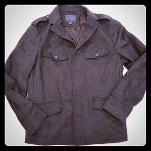 Banana Republic Men's Wool Blend Coat.
